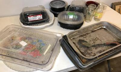 Recycled, Upcycled containers for seed starting